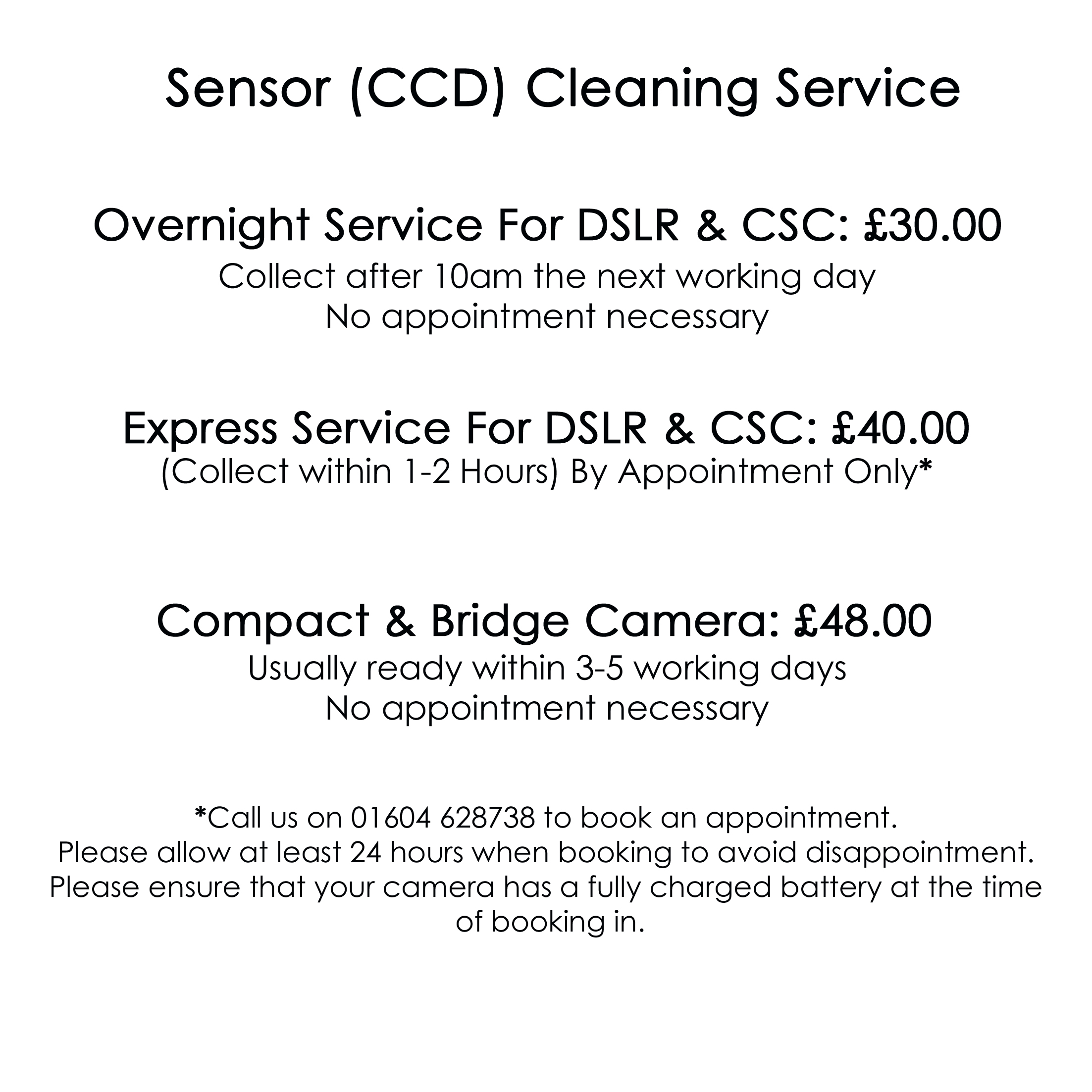 Sensor Cleaning Service