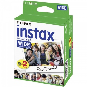 Fujifilm Instax Wide Colour Film - 20 Shots