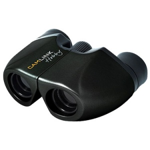 CAMLINK 8X21MM HOBBY COLLECTION BINOCULARS - BLACK
