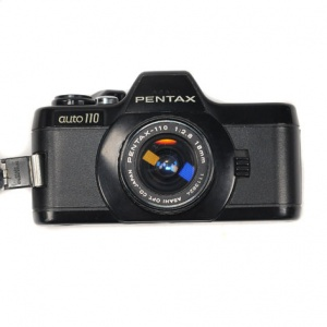Used Pentax Auto 110 + 18mm F2.8 + 24mm F2.8