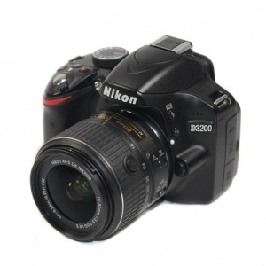 Used Nikon D3200 + 18-55mm F3.5-5.6 G VR II