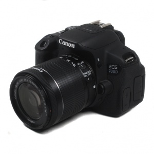 Used Canon EOS 700D + 18-55mm