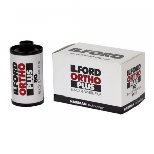 Ilford Ortho Plus 80 ISO 35mm 36exp Black & White Film