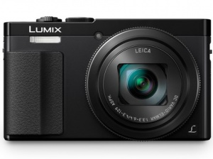 Panasonic Lumix DMC-TZ70 Black Digital Compact Camera