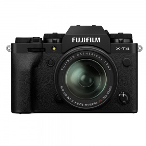 Fujifilm X-T4 + 18-55mm Lens (Black)