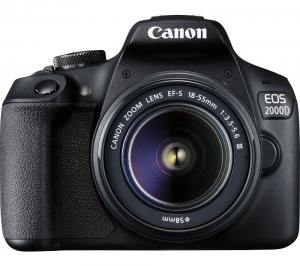 Canon EOS 2000D + 18-55mm F4-5.6 IS STM