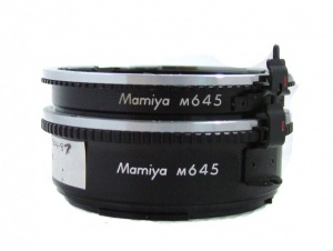 Used Mamiya M645 Auto-Ext Ring No.1 + No.2