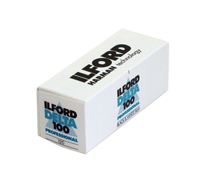 Ilford Delta 100 Professional Black & White 120 Roll Film