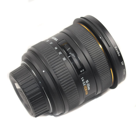 Used Sigma 10-20mm F4-5.6 EX DC (For Nikon)
