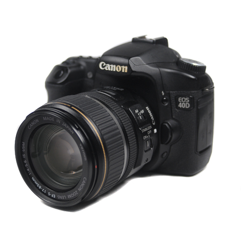 Used Canon EOS 40D + 17-85mm