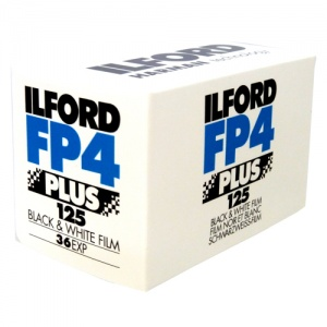 Ilford FP4+ 125 ISO Professional 36 Exposure 35mm Black & white Film