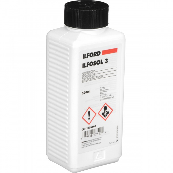 ILFORD ILFOSOL 3 500ML FILM DEVELOPER