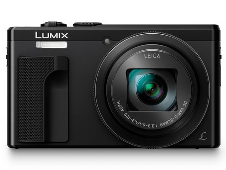 Panasonic Lumix DMC-TZ80 Black Digital Compact Camera