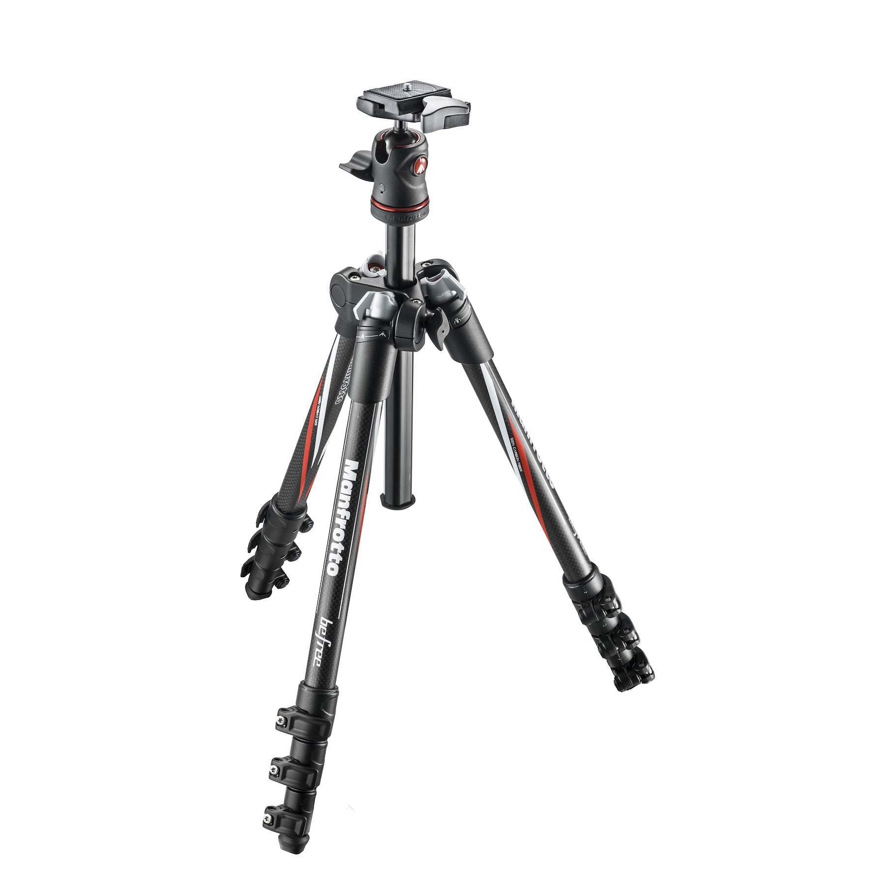 Manfrotto MKBFRC4-BH Carbon-Fibre Travel Tripod Kit with Ball Head