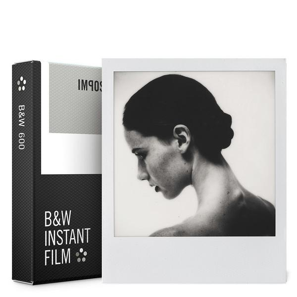 Impossible 600 B&W Film - 8 Shots