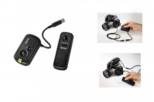 HAMA DCCS WIRELESS REMOTE SHUTTER RELEASE REF:005202