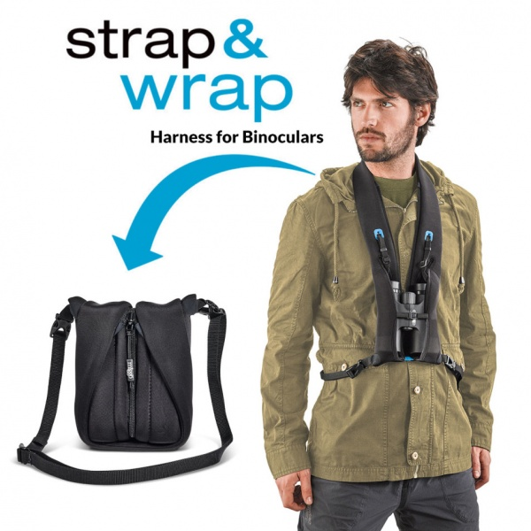 Miggo Strap&Wrap Harness for Roof Binoculars Camo