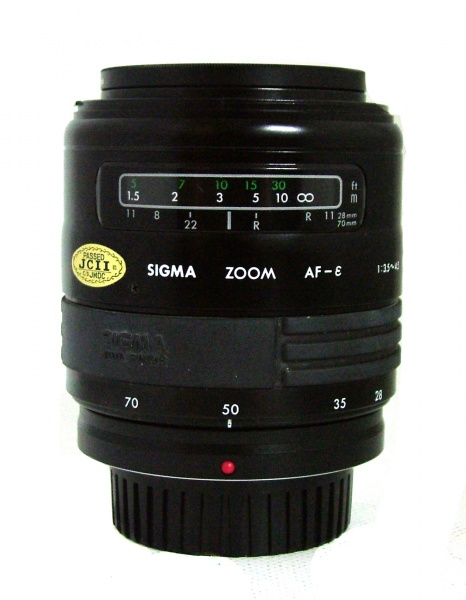 Used Sigma 28-70mm F3.5-4.5 (Olympus Fit)