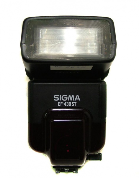 Used Sigma EF-430 ST Flash (Minolta Fit)