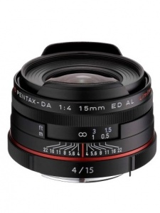 Pentax 15mm f4.0 HD DA ED AL Limited