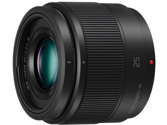 Panasonic Lumix G 25mm f1.7 ASPH - Black