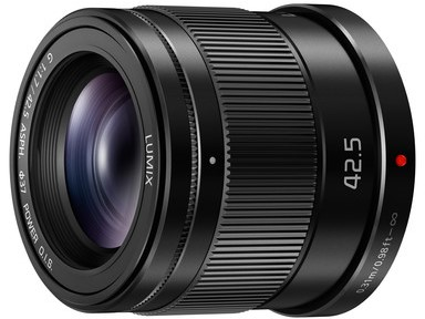 Panasonic Lumix G 42.5mm f1.7 Asph Power OIS Black