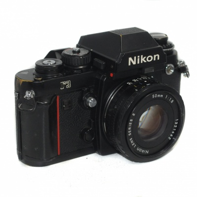 Used Nikon F3 + 50mm F1.8 Series E