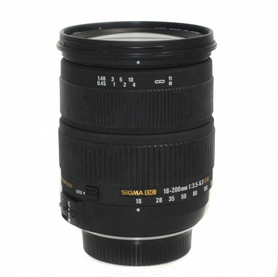 Used Sigma 18-200mm F3.5-6.3 DC Nikon Fit