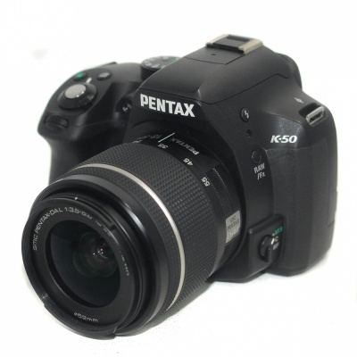 Used Pentax K-50 + 18-55mm F3.5-5.6 AL