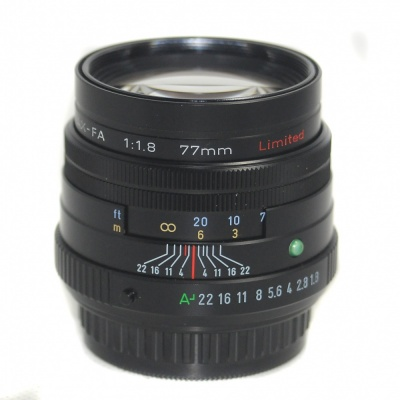 Used Pentax 77mm F1.8 Limited