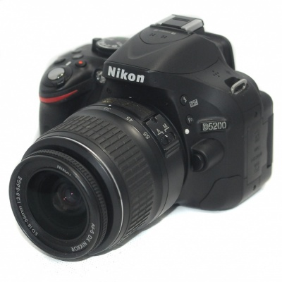 Used Nikon D5200 + 18-55mm F3.5-5.6 G II