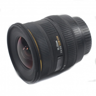 Used Sigma10-20mm F4-5.6 DC (for Canon)