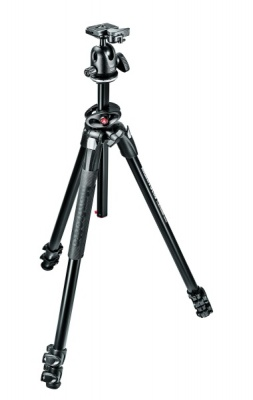 MANFROTTO MK290DUA3 TRIPOD WITH 496RC2 BALL HEAD