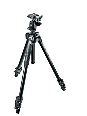 MANFROTTO MK290LTA3 TRIPOD WITH 494RC2 BALL HEAD