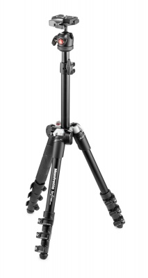 Manfrotto MKBFR1A4BK-BH Travel Tripod Kit with Ball Head