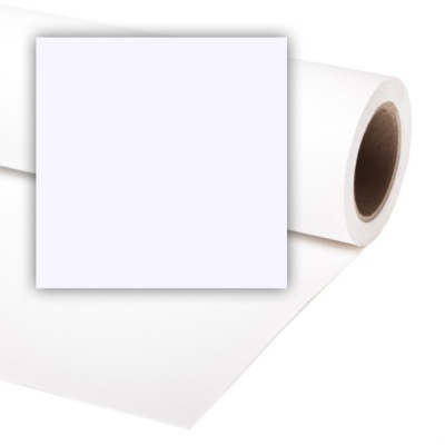 Colorama Full-Width Paper Background - Arctic White
