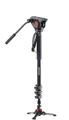 Manfrotto MVMXPRO500 Video Monopod Kit