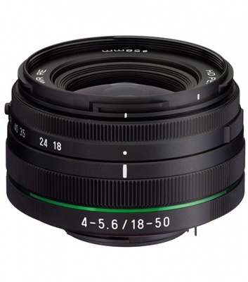 Pentax 18-50mm F4.0-5.6 HD DA DC WR RE Lens