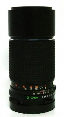 USED MAMIYA 210MM F4 C N SEKOR 645 FIT