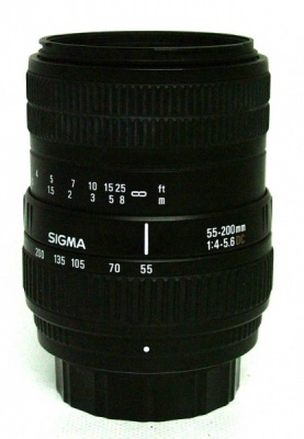 Used Sigma 55-200mm F4-5.6 DC (Pentax Fit)