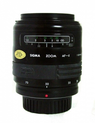 Used Sigma 28-70mm F3.5-4.5 For Olympus AF