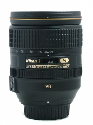 Used Nikon 24-120mm F4.0 G ED VR