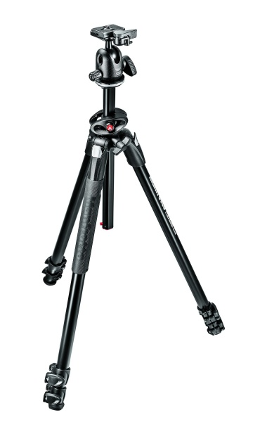 Manfrotto MK290DUA3-BH Tripod Kit with Ball Head
