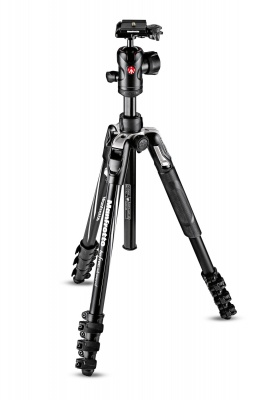 Manfrotto MKBFRLA4BK-BH Travel Tripod Kit with Ball Head